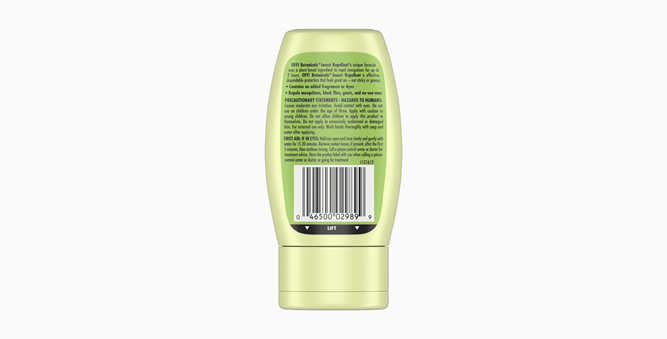 OFF!® Botanicals® Insect Repellent Lotion