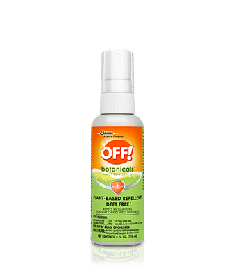 OFF!® Botanicals® Insect Repellent IV