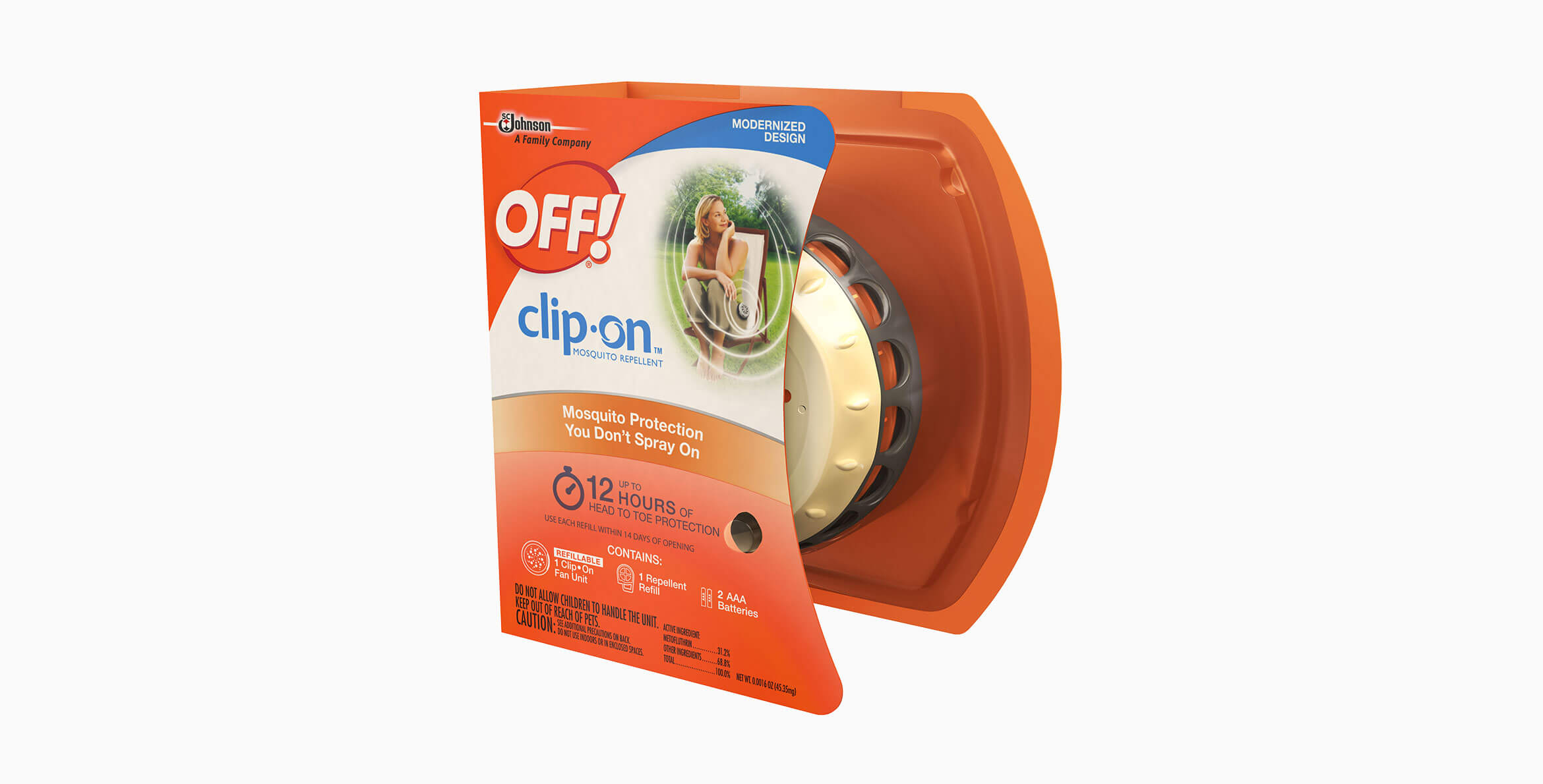 Clip On™ Mosquito Repellent