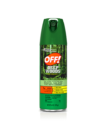 OFF! Deep Woods® Insect Repellent V