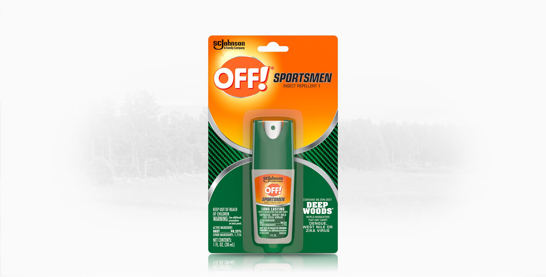 OFF!® Sportsmen Deep Woods®  Insect Repellent 1