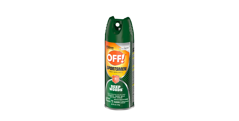 OFF!® Sportsmen Deep Woods® Insect Repellent 3