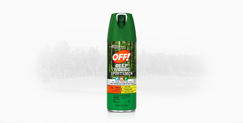 OFF! Deep Woods® Sportsmen Insect Repellent II