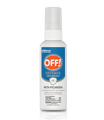 OFF!® Defense Insect Repellent 2 With Picaridin, 4 oz. Spritz Spray