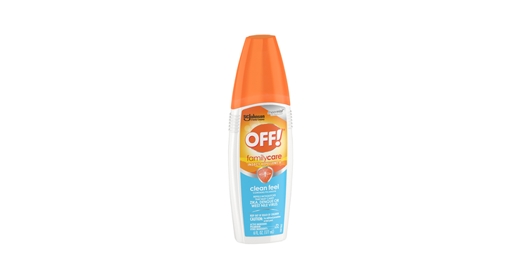 OFF!® FamilyCare Insect Repellent II (Clean Feel)