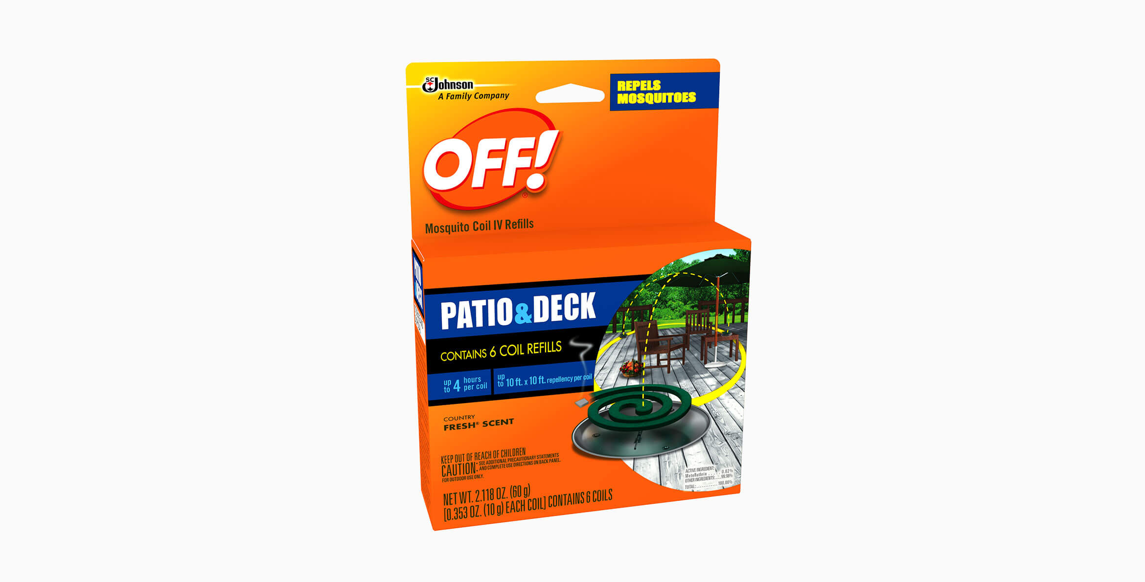 OFF!® Mosquito Coil IV Refills