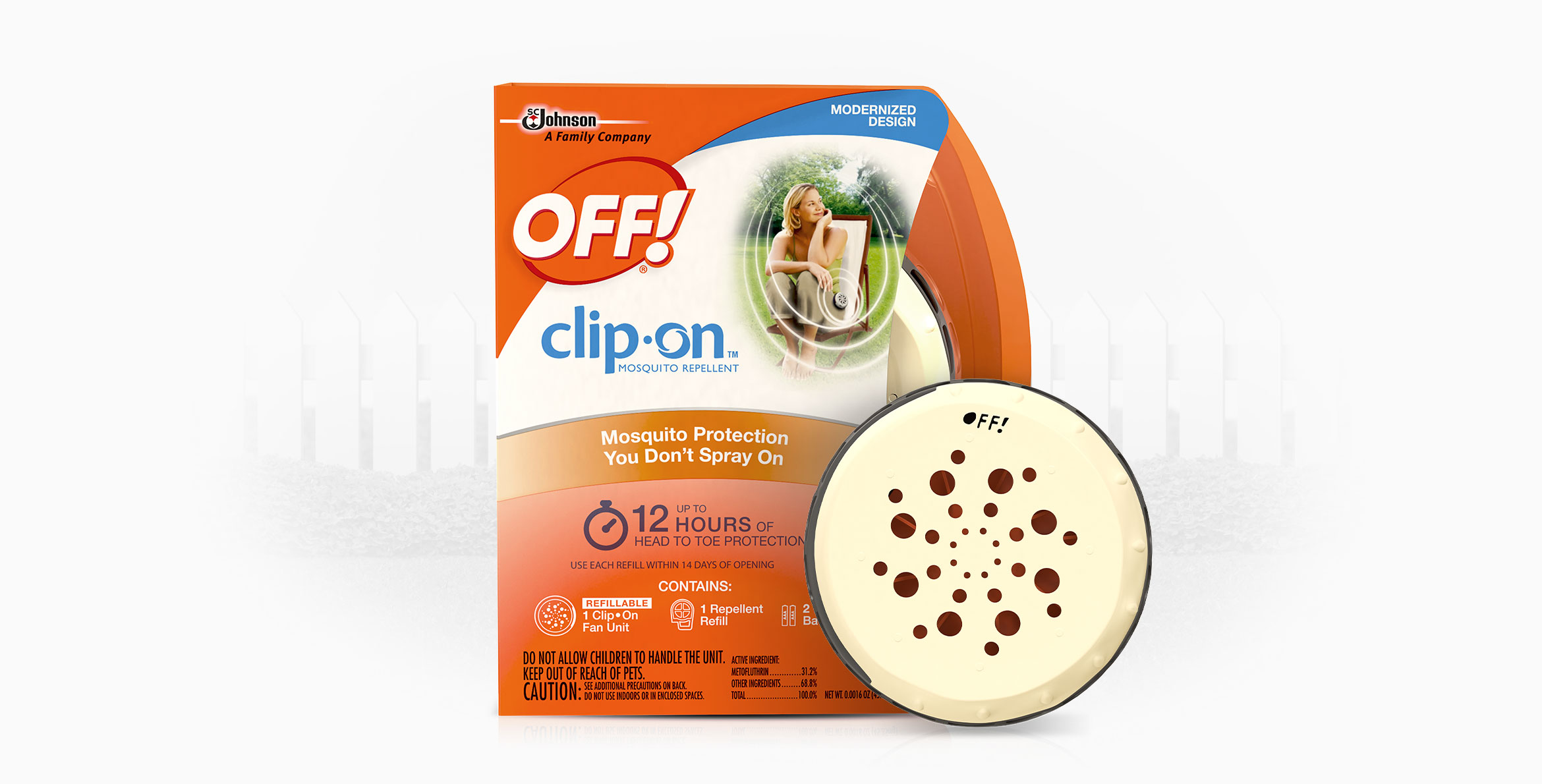 OFF!® Clip On™ Mosquito Repellent