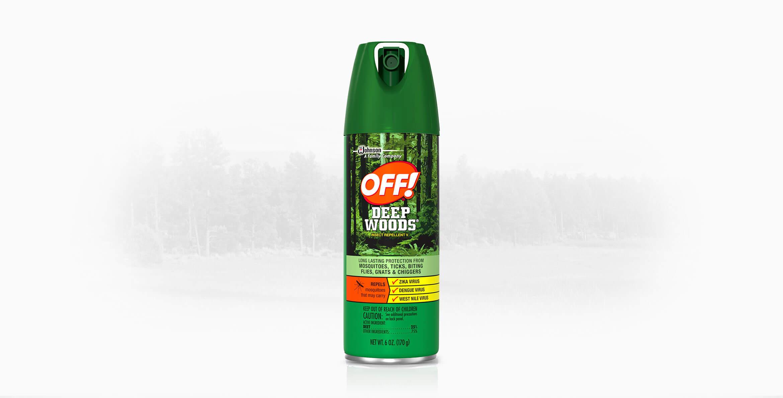 Off! Deep Woods Insect Repellent V, 25% DEET