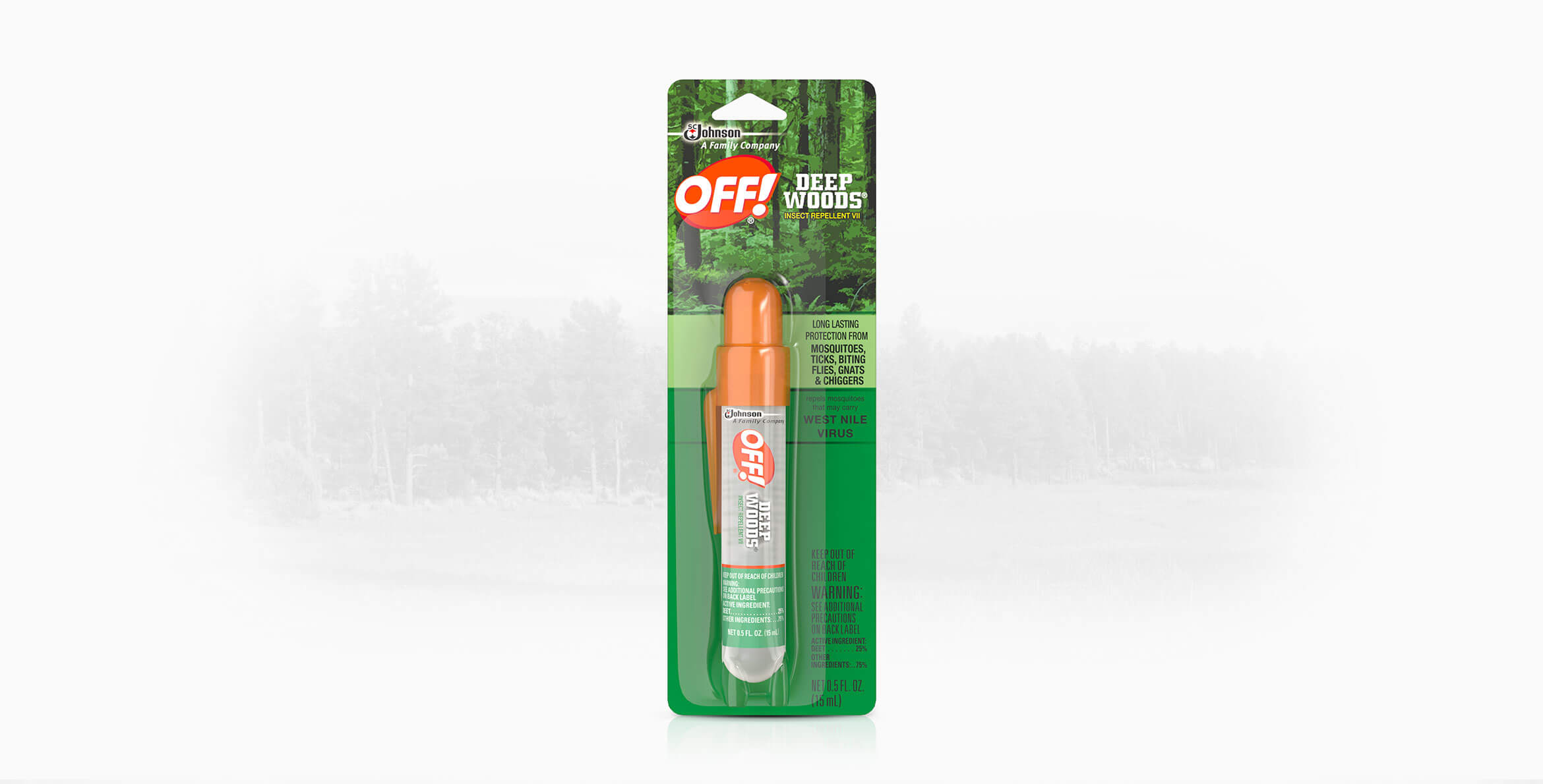 Off Deep Woods 174 Insect Repellent Vii Mini Pump Spray