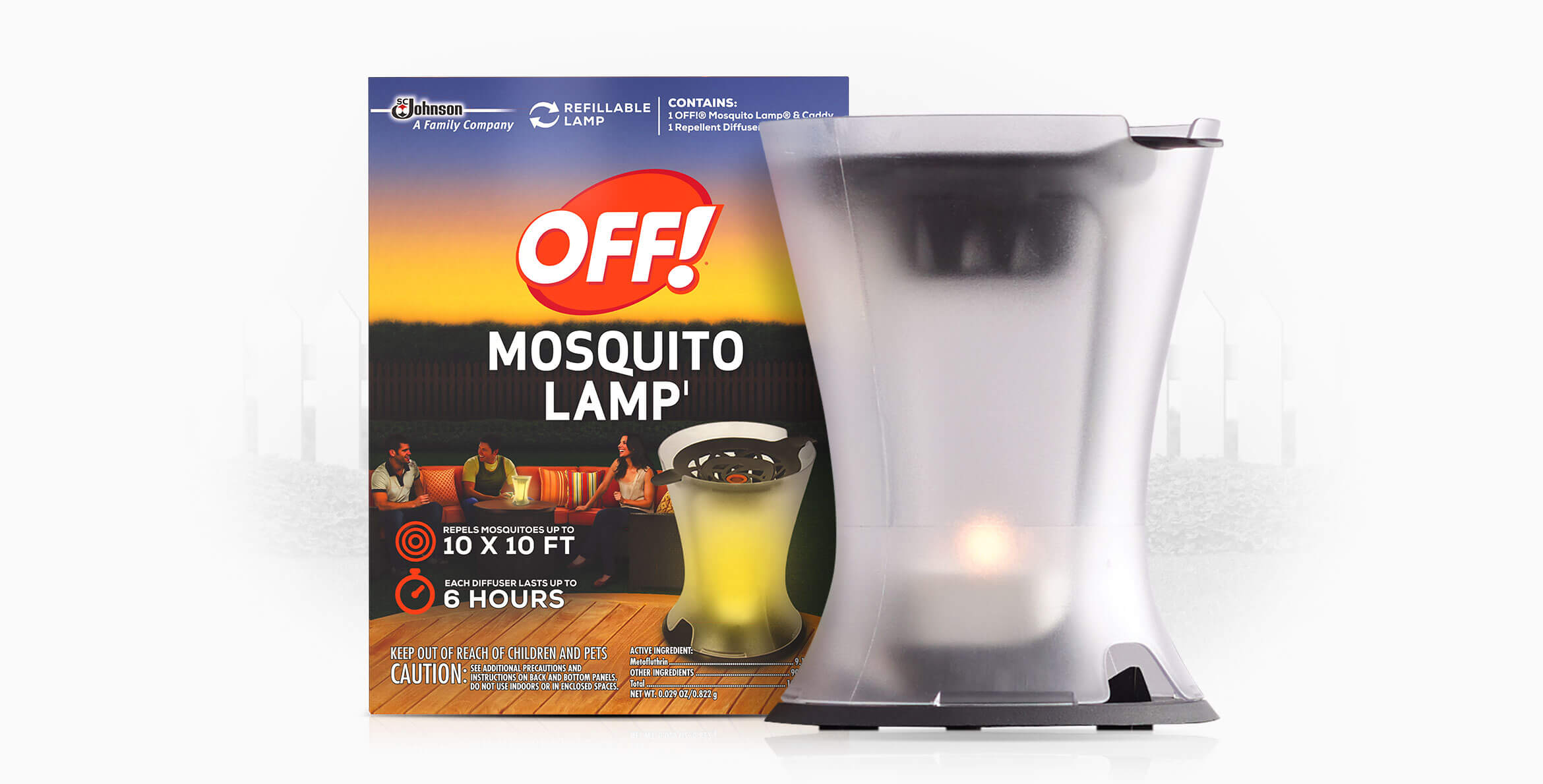 Attractive OFF!® Mosquito Lamp I