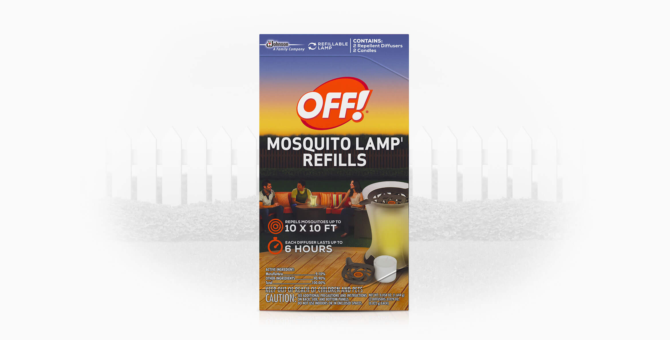 Awesome OFF!® Mosquito Lamp I Refills