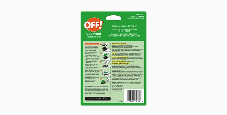 OFF!® Mosquito Coil